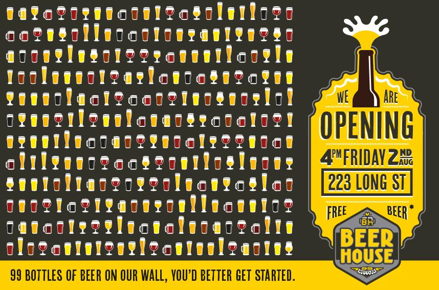 beerhouse opening invite