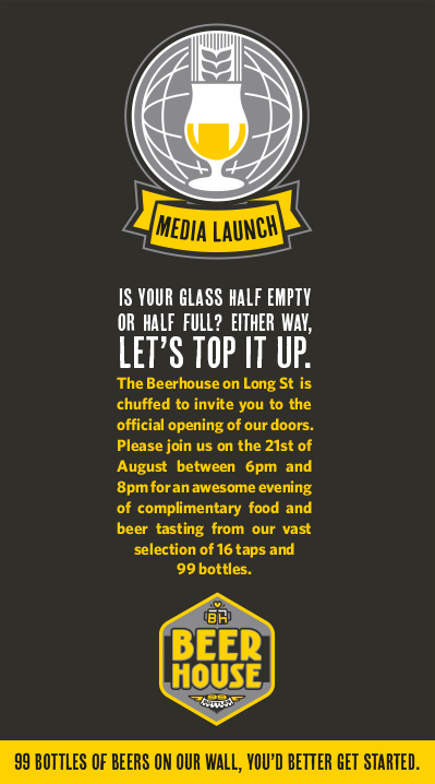 Beerhouse media launch