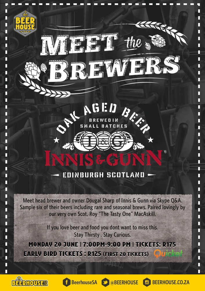 Meet The Brewers with Innis & Gunn