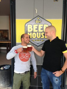 First ever Beerhouse Fourways Pints
