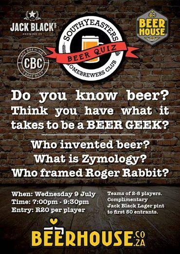 Beer Quiz poster
