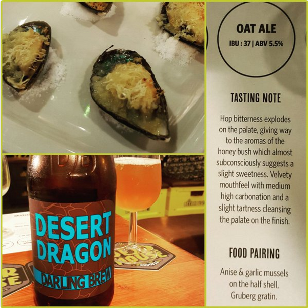 Desert Dragon & Mussels