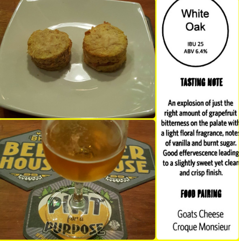 White Oak Food Pairing