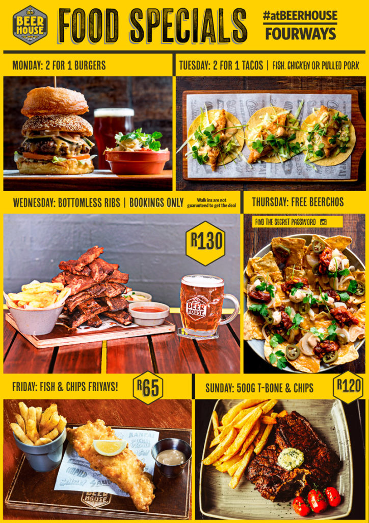 Tuesday Specials Fast Food Johannesburg